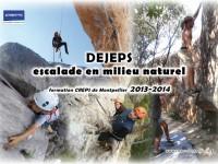 Stages d'initiation à la grande voie et au terrain d'aventure